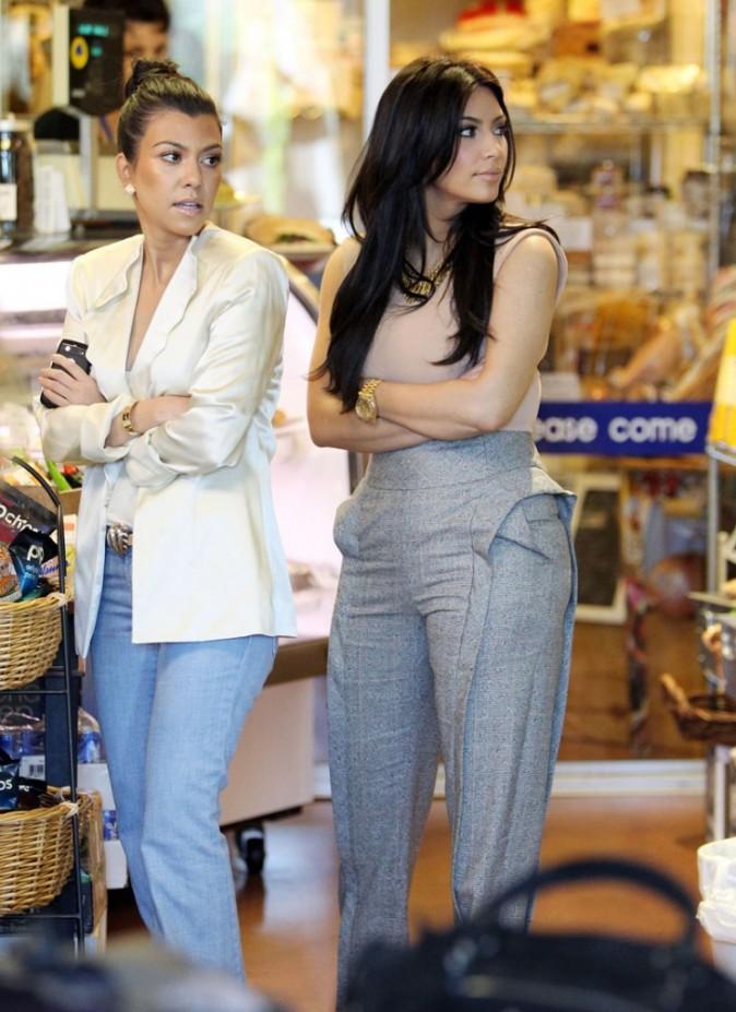 ...que Kim Kardashian n'est pas du genre à cacher !