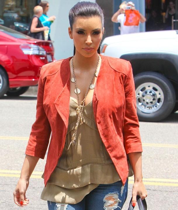 Kim lookée en toute circonstance !