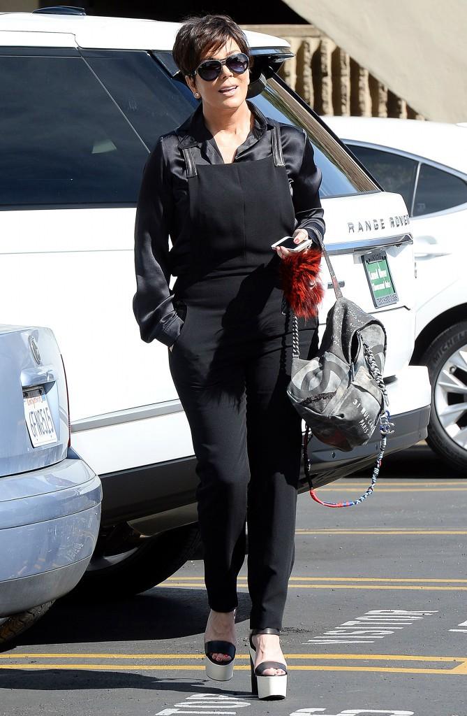 Photos : Kim Kardashian et Kris Jenner : un adorable duo mère-fille décontracté !