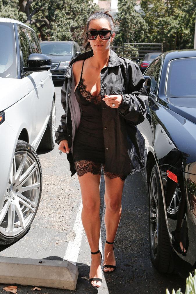 Kim Kardashian à Los Angeles le 15 juillet 2016