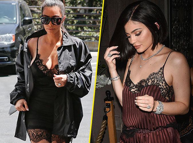 Photos : Kim Kardashian et Kylie Jenner : aujourd'hui elles vous invitent dans leurs lits !