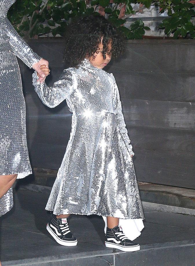 Kim Kardashian et North West à New York le 5 septembre 2016