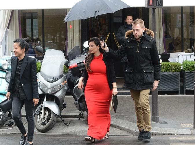 Kim Kardashian à Paris le 30 avril 2013