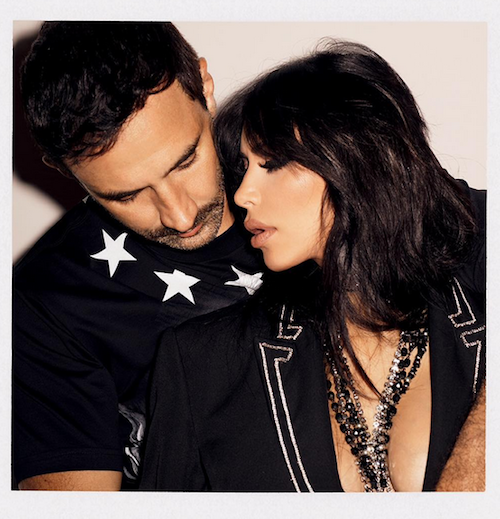 Photos : Kim Kardashian glam' rock pour Sorbet Magazine avec Riccardo Tisci !