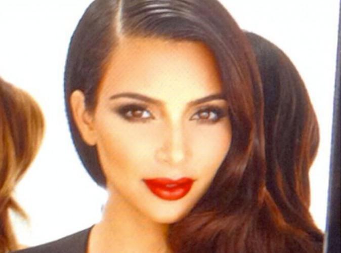 Kim Kardashian : glamour avec Khloe et Kourtney, elle lance la gamme Kardashian Beauty Hair !