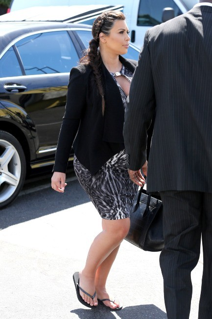 Kim Kardashian à Encino, le 30 mai 2013.