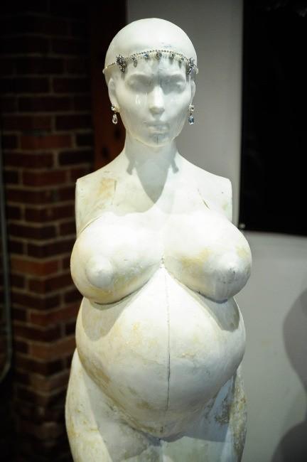 Kim Kardashian vue par l'artiste contemporain Daniel Edwards