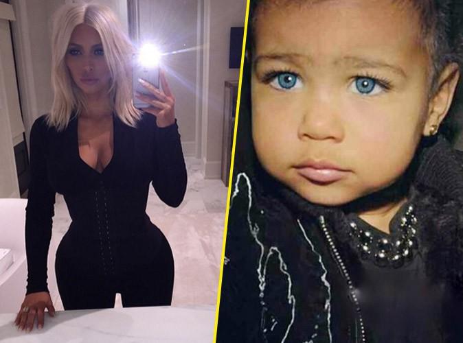 Photos : Kim Kardashian : jamais sans sa gaine pendant que North change de tête !