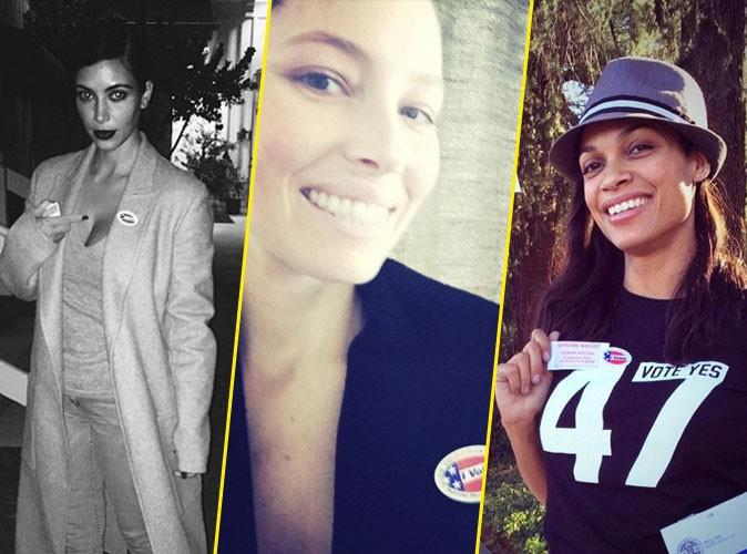 Kim Kardashian, Jessica Biel, Rosario Dawson, Kendall Jenner :