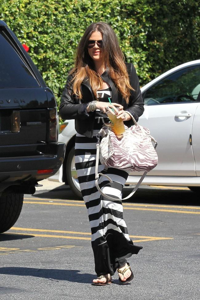 Khloé Kardashian en mode cool