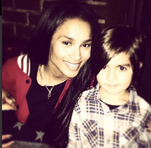Ciara ête les 5 ans de Mason