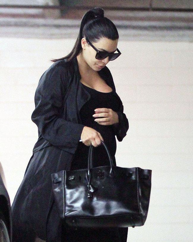 Kim Kardashian à Santa Monica le 6 octobre 2015