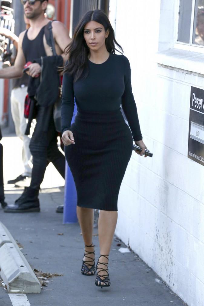 Photos Kim Kardashian La Sexy Mama Retrouve Le Chemin Du Travail Apr S Avoir Savour Son