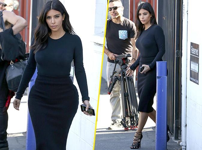 Kim Kardashian : la sexy mama retrouve le chemin du travail apr�s avoir savour� son voyage � Hawa� !