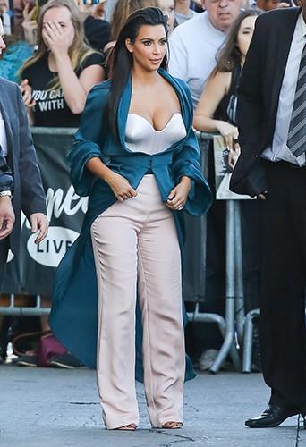 Kim Kardashian à Los Angeles le 4 août 2014