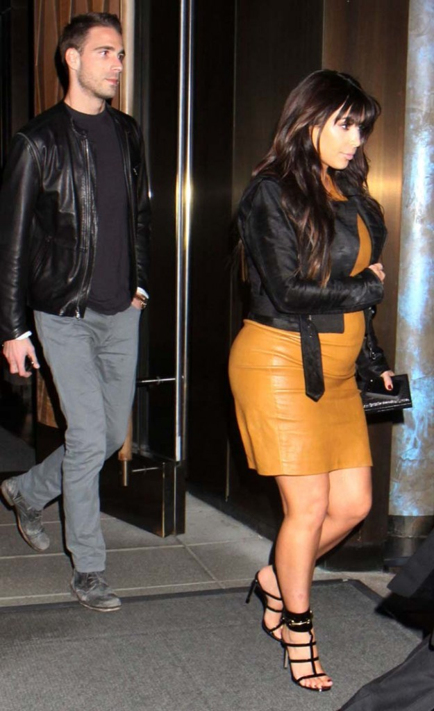 Kim Kardashian en séance shopping à New-York le 26 mars 2013