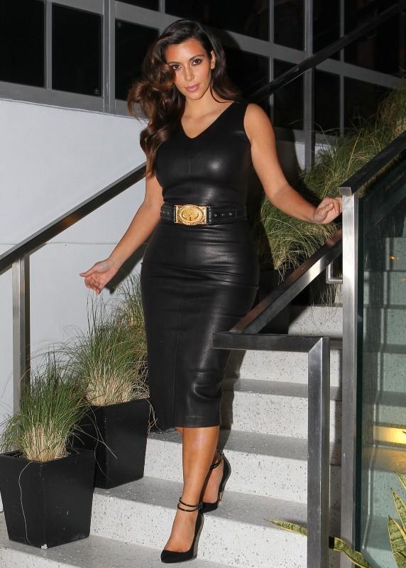 Kim Kardashian, Miami, 2 novembre 2012.
