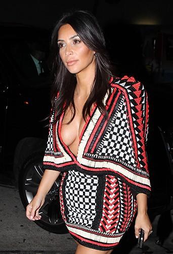 Kim Kardashian à Los Angeles le 24 août 2014
