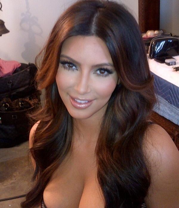 couleur cheveux kim kardashian #3