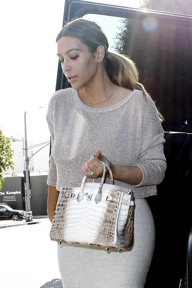 Kim Kardashian à Beverly Hills le 11 janvier 2014