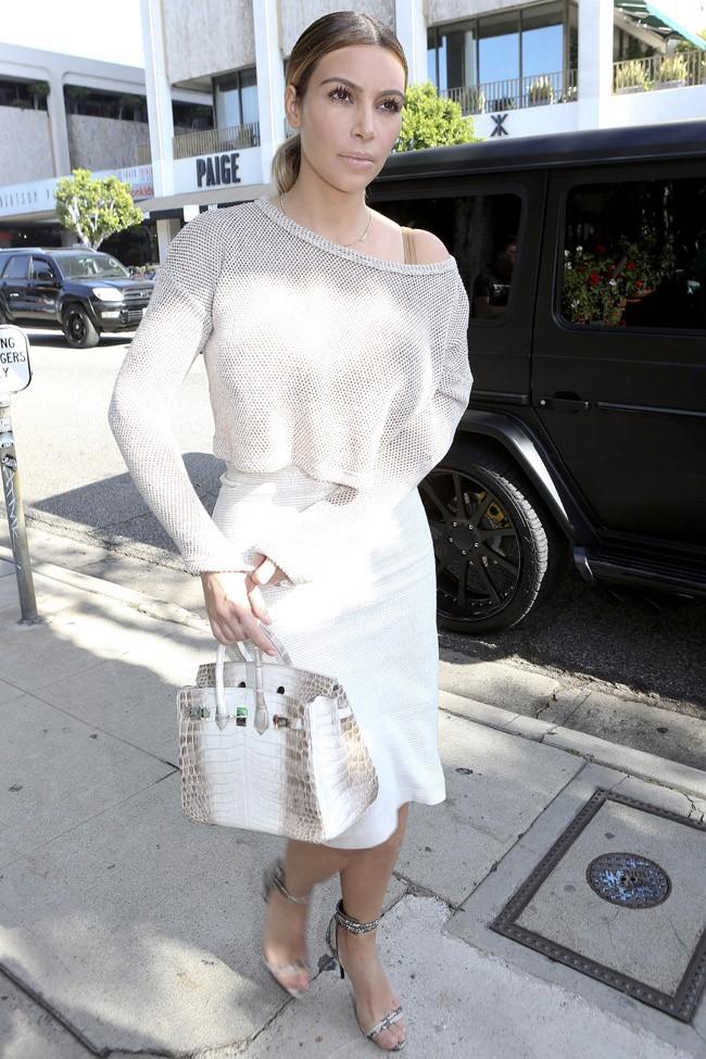 Kim Kardashian à BeverlyHills le 11 janvier 2014