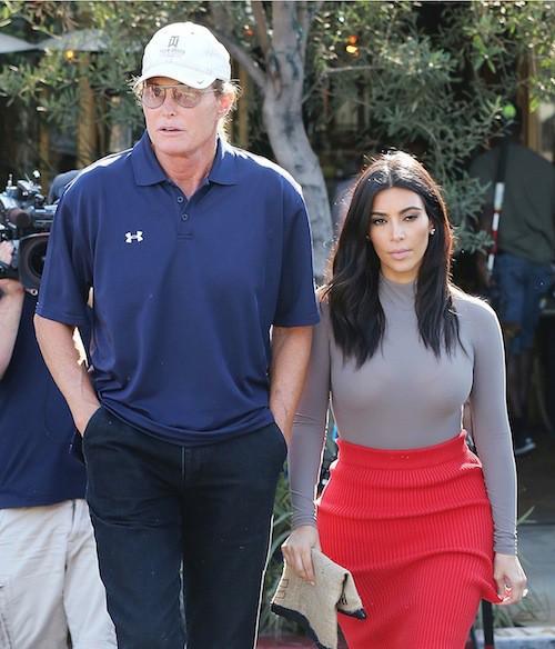 Photos : Kim Kardashian : malgré la polémique entre Kris et Bruce Jenner, elle ne lâche pas son beau-père !