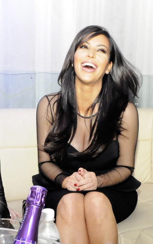 Kim Kardashian, Abdijan, 19 janvier 2013.