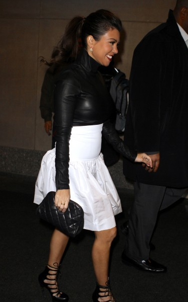 Kourtney Kardashian à New York, le 15 janvier 2013.