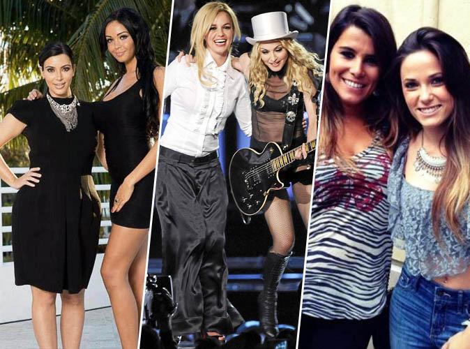 Kim Kardashian & Nabilla, Madonna & Britney Spears... Quand les stars adorent d'autres stars !