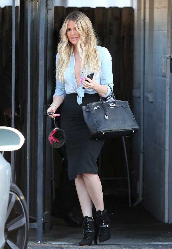 Khloe Kardashian le 6 juillet 2015