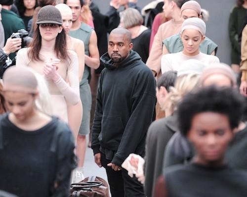 Kanye West au défilé Kanye West x Adidas le 12 février 2015