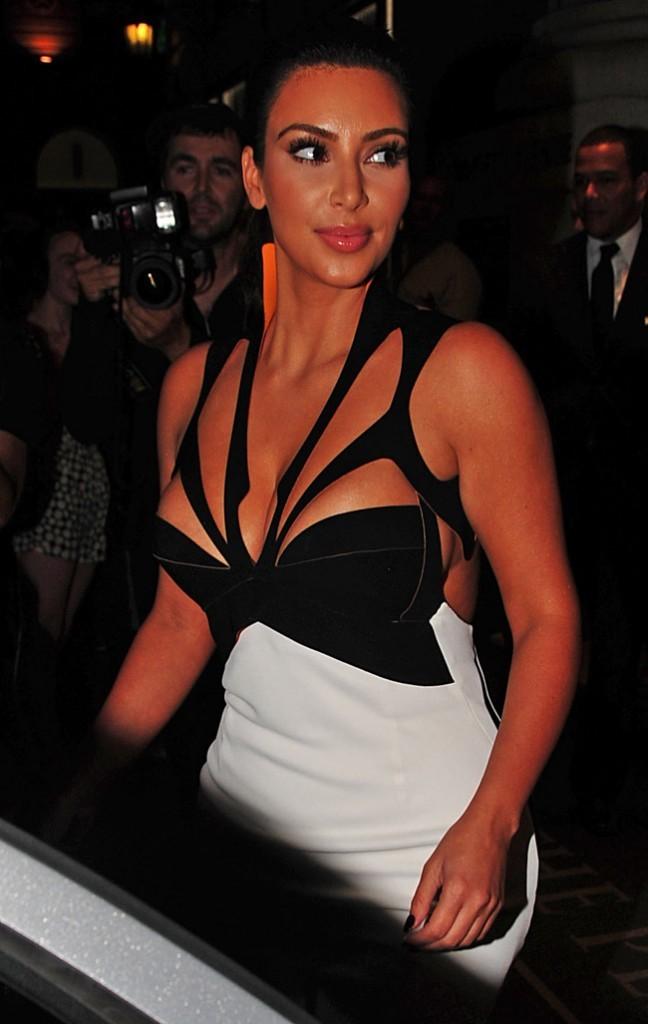 Kim Kardashian le 5 septembre 2012 à New York