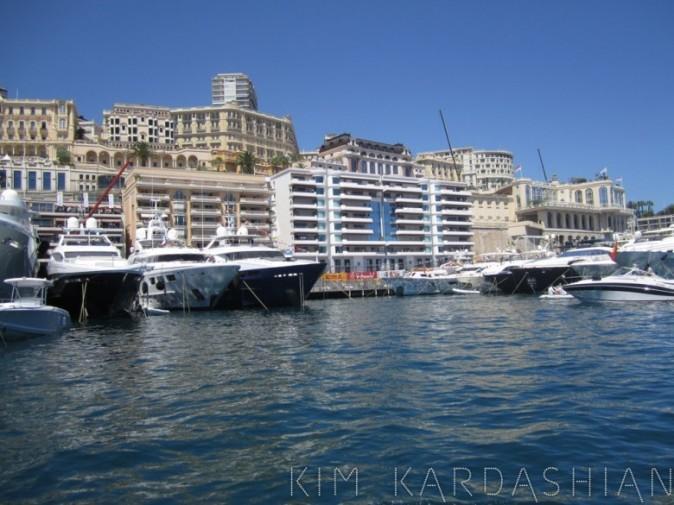Kim a mené la grande vie à Monaco !