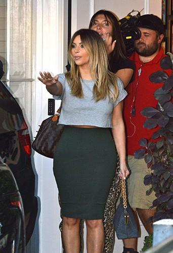 Kim Kardashian à Los Angeles le 13 novembre 2013