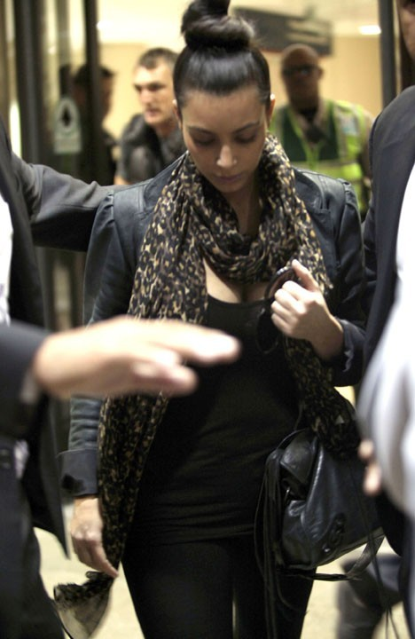 ...Kim Kardashian comme on l'a rarement vue !