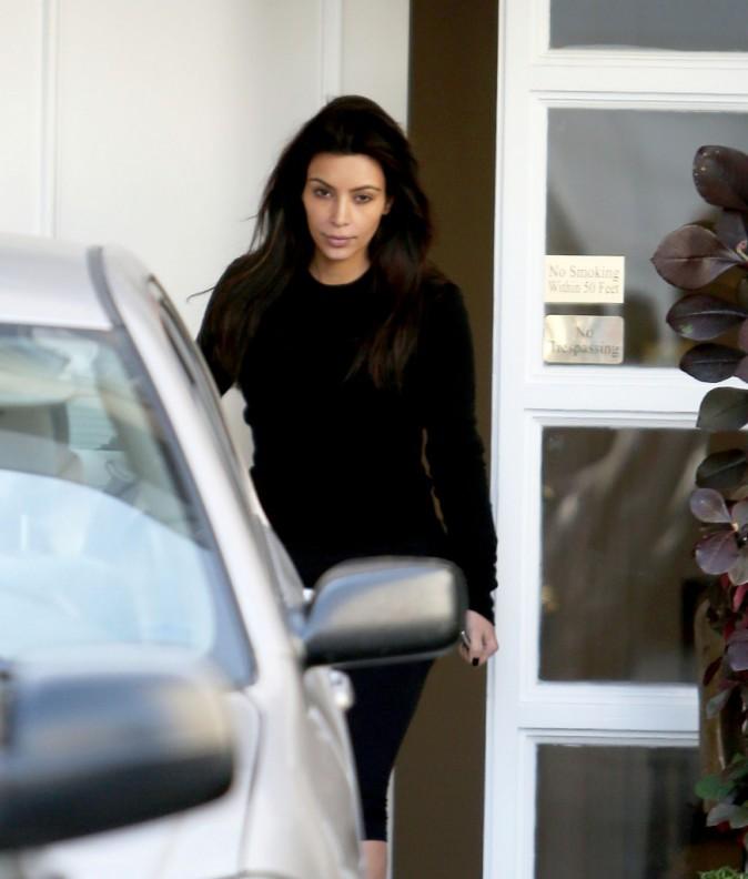 Kim Kardashian à Beverly Hills, le 20 mars 2014.