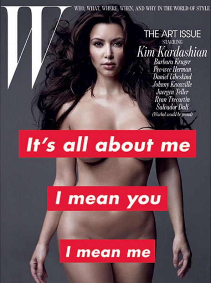 Kim Kardashian en couverture de W Magazine en 2011