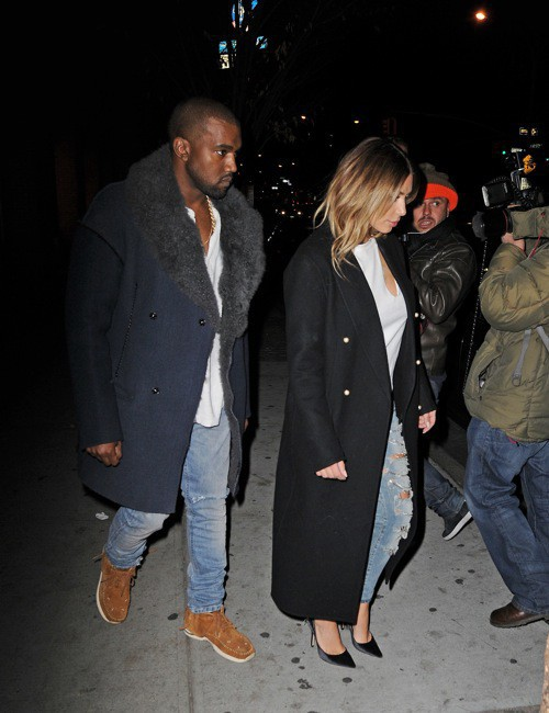 Photos : Kim Kardashian : plus lookée que jamais à NYC !