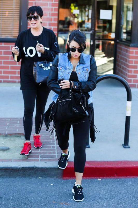 Kim Kardashian et Kris Jenner, Los Angeles, 1er mars 2013