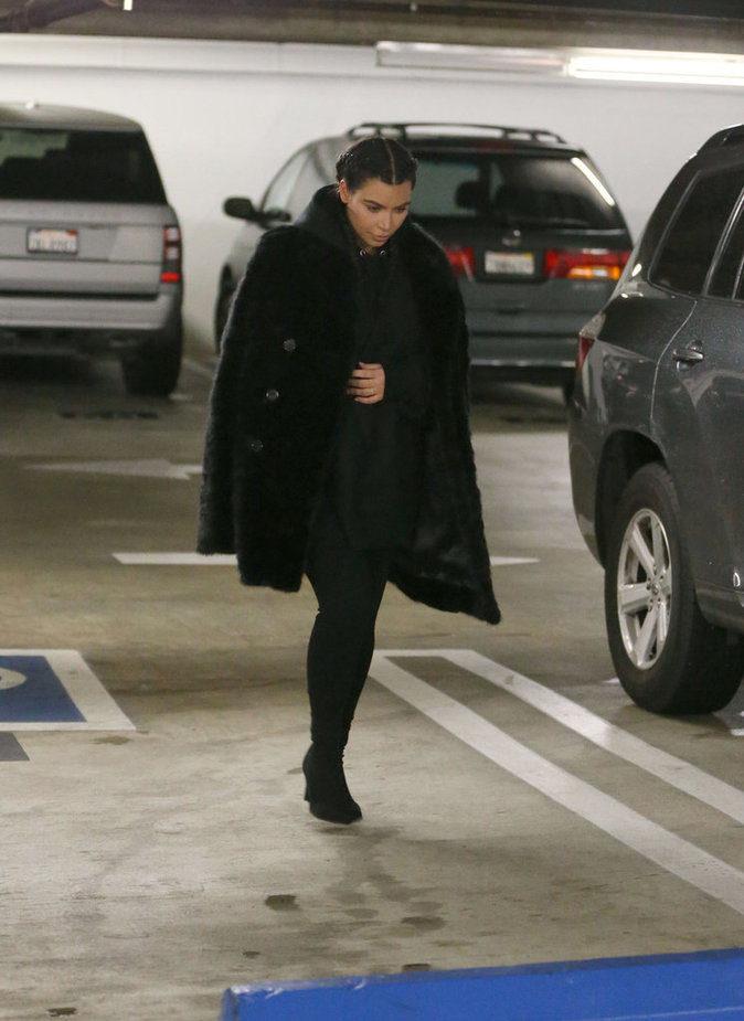 Photos : Kim Kardashian : première sortie depuis la naissance de Saint !