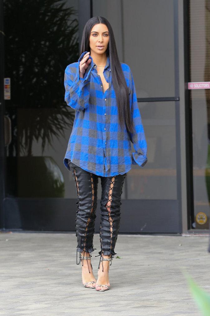 Photos Kim Kardashian Priv E De Fashion Week Elle Reprend Le Chemin Des Studios T L