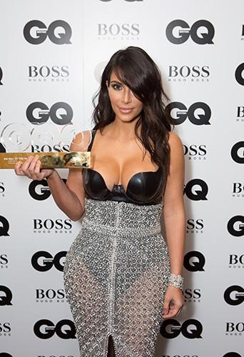 Kim Kardashian à Londres le 2 septembre 2014