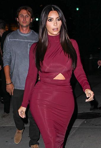 Kim Kardashian à New York le 11 août 2014