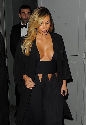 Kim Kardashian à Paris le 1er octobre 2013