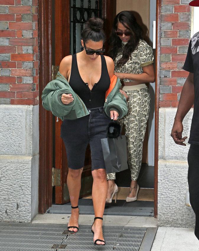 Kim Kardashian à New York le 1er septembre 2016