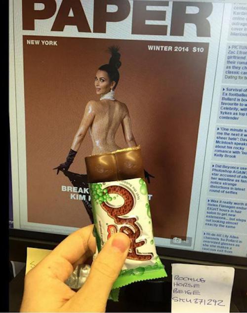Photos : Kim Kardashian : sa nouvelle photo nue à peine dévoilée, déjà parodiée !