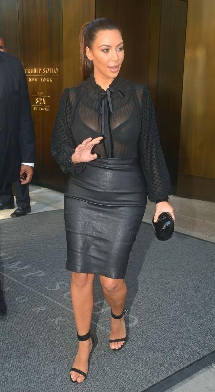 Kim Kardashian, New York, 14 septembre 2012.