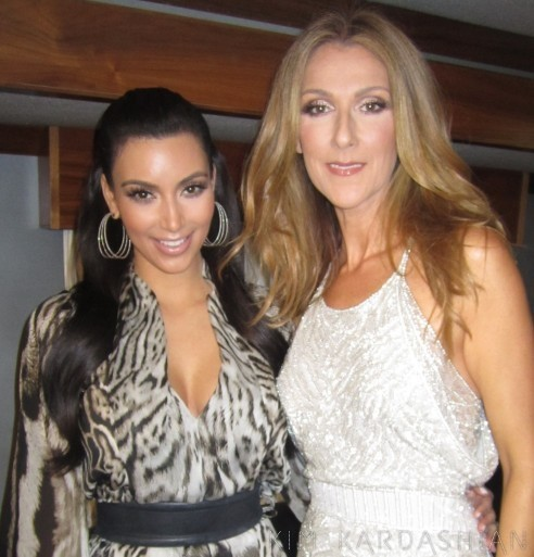 Non mais si ça c'est pas la rencontre de l'année ! Kim et Céline, le cliché le plus improbable du mois...