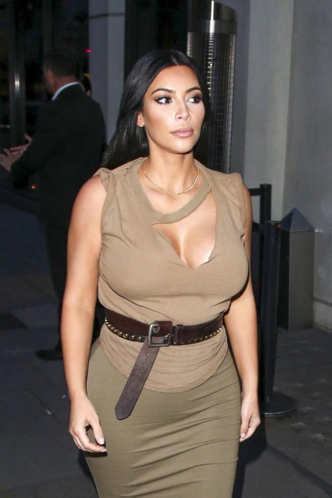 Kim Kardashian et Kanye West le 25 juin 2015