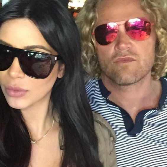 Kim Kardashian et Peter Dundas